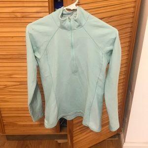 EUC Patagonia light turquoise half zip S